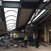 [VIDEO] Más de 100 heridos deja accidente de tren en Nueva Jersey