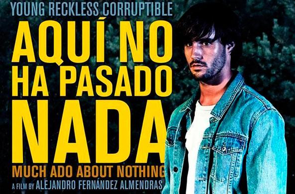"""Función gratuita para docentes película """"Aquí no ha pasado nada"""" en Cine Arte Normandie, 11 de septiembre"""