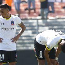 Ni la ruda salva al Cacique: Colo Colo solo rescata un empate ante Santiago Wanderers