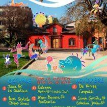 Ciclo de Conciertos Espiral en Centro de Danza Espiral, sábados de octubre y noviembre. Entrada liberada