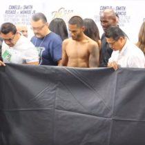 [VIDEO] Boxeador sufre bochornoso momento a la hora de pesarse antes de pelea