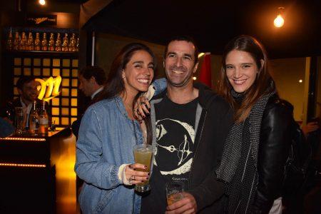 Militza Bucovich, Oscar Greene y Francesca Innocenti.