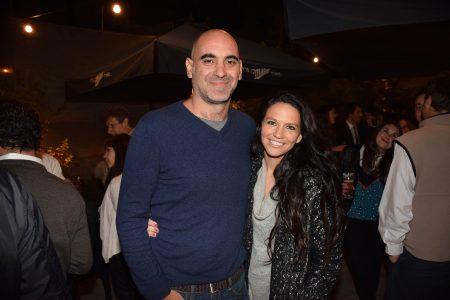 Victor Pellegrini e Ignacia Labbé.