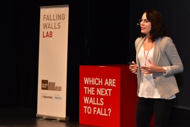 Isadora Schmidt gana el Falling Walls Chile y representará al país en el foro más importante de la ciencia global