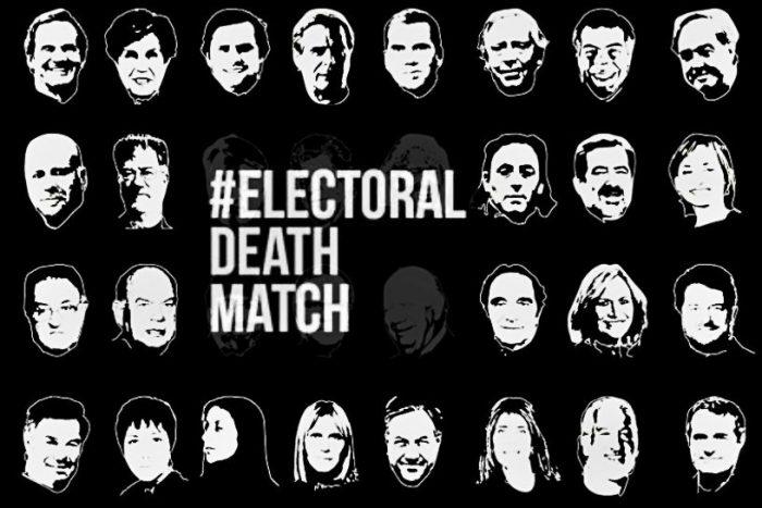 #ElectoralDeathMatch de septiembre incorpora nuevos nombres