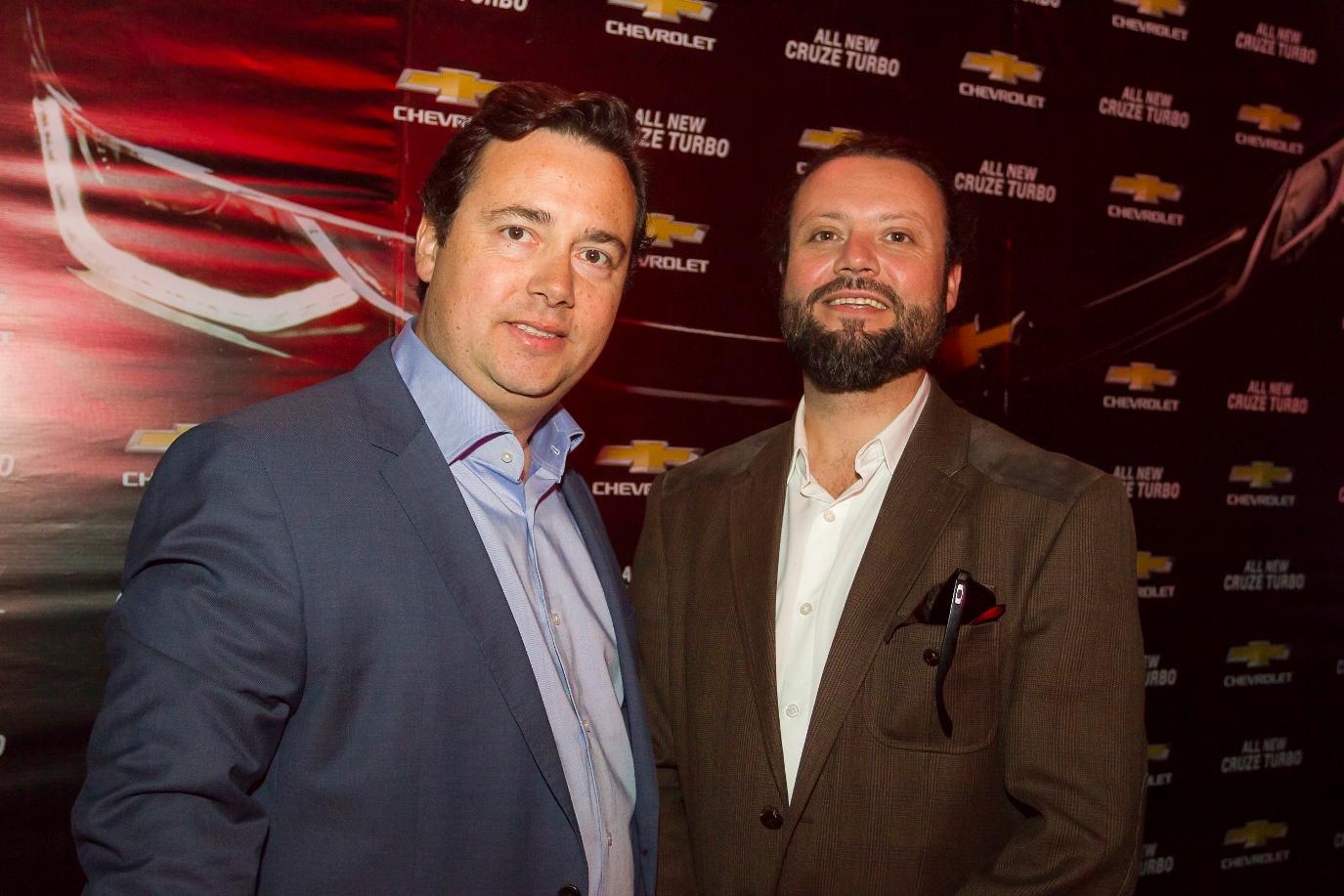Felipe Melhuish y Patricio Zanca