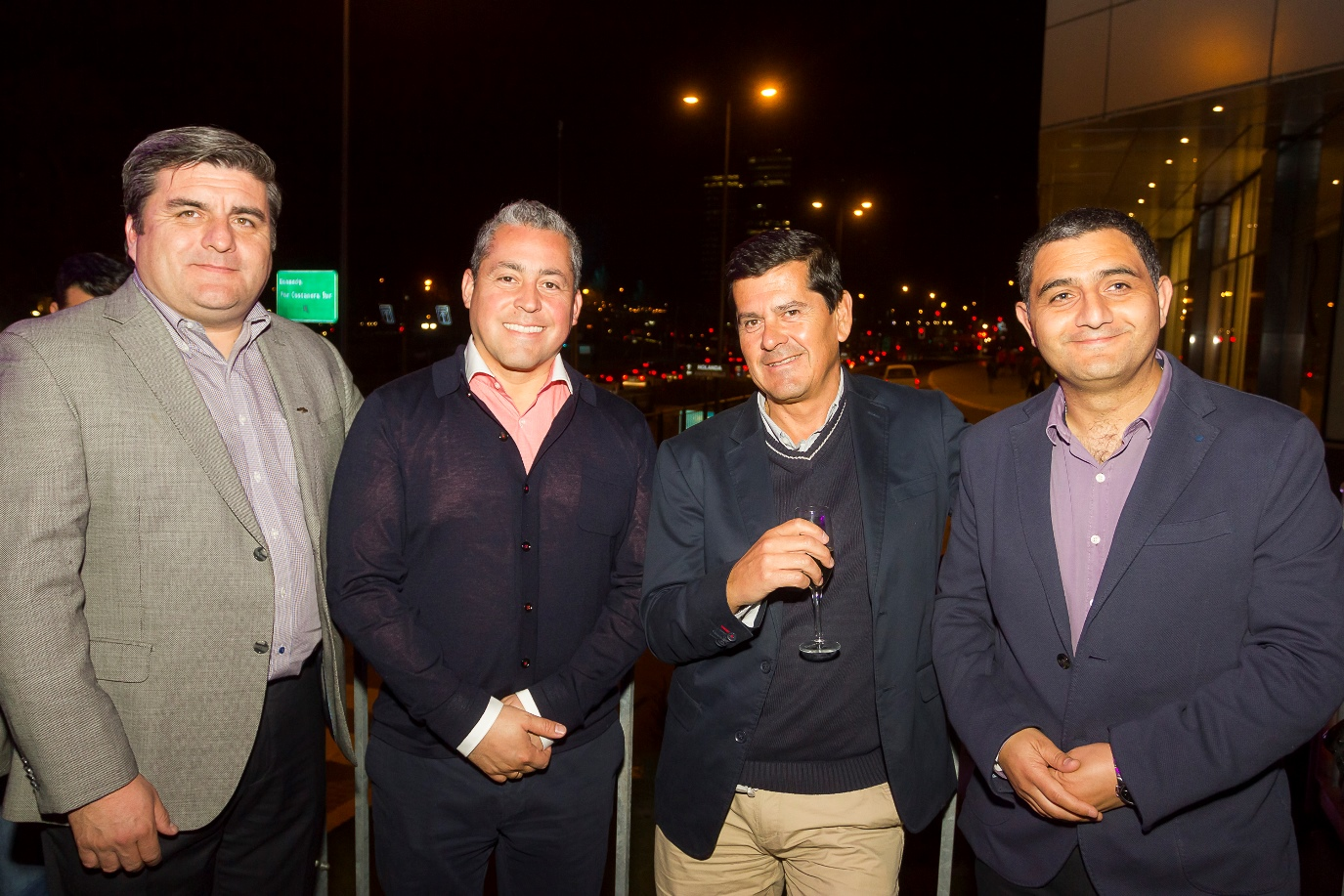 Juan Pablo Renault, José Miguel Ruz, Nelson Saleh y Gabriel Dintrans