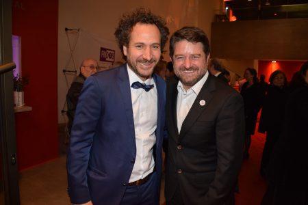 Juan Pablo Sáez y Claudio Orrego.