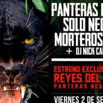 """Lanzamiento gira internacional """"Reyes de la Junga"""" de Panteras Negras en Centro Arte Alameda, 2 de septiembre"""