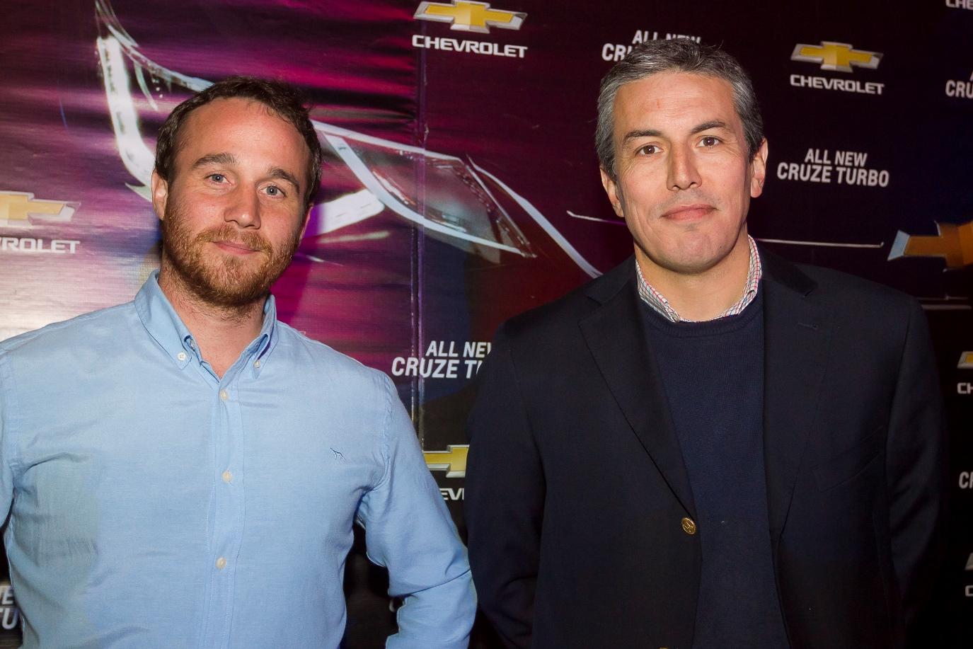 Paul Ginieis y Gonzalo Ferrari