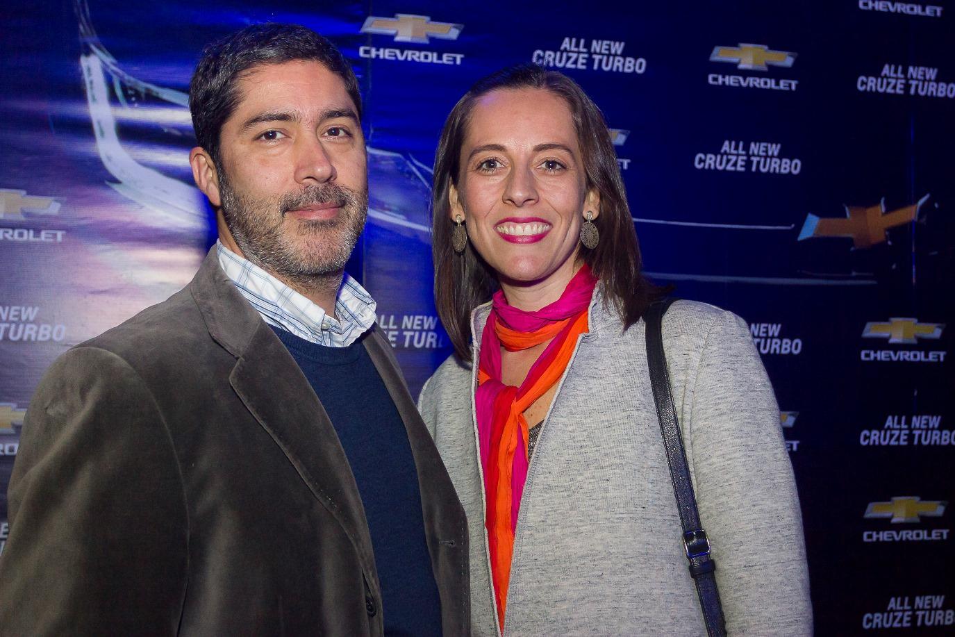 Rodrigo Torres y Alejandra Fuenzalida