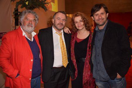 Tito González, Pepe Auth, Magdalena Max-Neef y Rodrigo Bastidas. JPG
