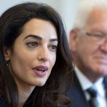 Amal Clooney, la voz que defiende a las víctimas del Estado Islámico