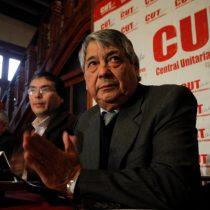Arturo Martínez, emblemático dirigente de la CUT, prepara un movimiento paralelo a la multisindical