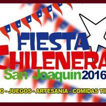 "Gran Fonda Comunitaria: ""Fiesta Chilenera de San Joaquín 2016"" en el Parque La Castrina, 17 de septiembre. Entrada liberada"
