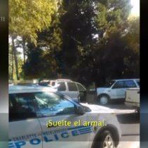 [VIDEO] Se difunde registro de la muerte del hombre afroamericano de Charlotte a manos de la policía en Estados Unidos