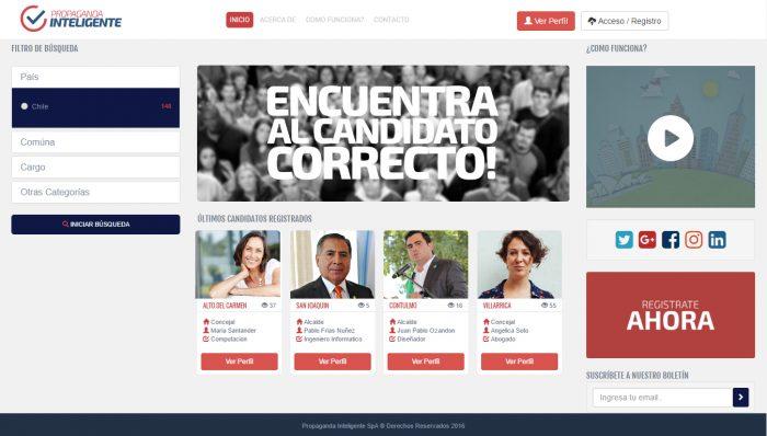 Chilenos crean primer portal de propaganda política que busca posicionarse a escala global