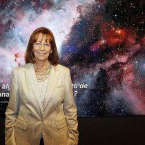 Unesco y fundación francesa eligen a astronóma María Teresa Ruiz como