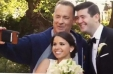 [VIDEO VIDA] El momento en que Tom Hanks se cuela en las fotos de boda de una pareja en Central Park