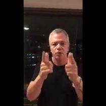 [VIDEO] El violento apoyo del