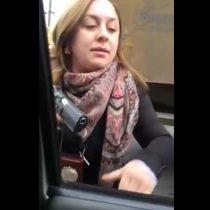 [VIDEO] Funcionaria de la PDI es detenida tras furiosa reacción contra un conductor