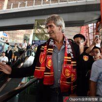 [VIDEO] Manuel Pellegrini es recibido como