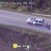 [VIDEO] Presentan cargos contra policía de Tulsa (EE.UU.) acusada de matar a hombre negro desarmado
