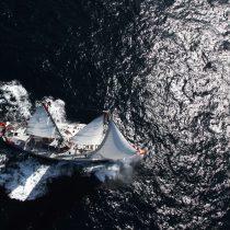 Expedición científica francesa que recorre el océano Pacífico arriba a Chile para estudiar el cambio climático