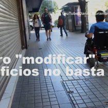 Accesibilidad Universal y el desafío de salir a la calle para una persona con discapacidad