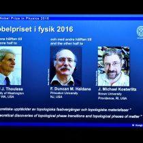 El Nobel de Física premia a tres británicos investigadores de la materia