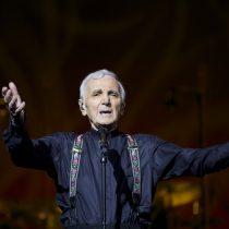 Charles Aznavour incluye a Chile en su gira 'Sólo Una Noche'