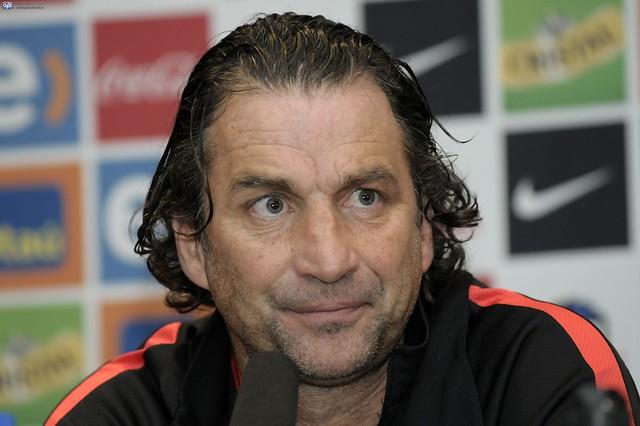 Pizzi en la previa del duelo con Ecuador: