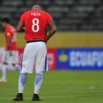 Chile juega irreconocible y pierde 3 a 0 con Ecuador