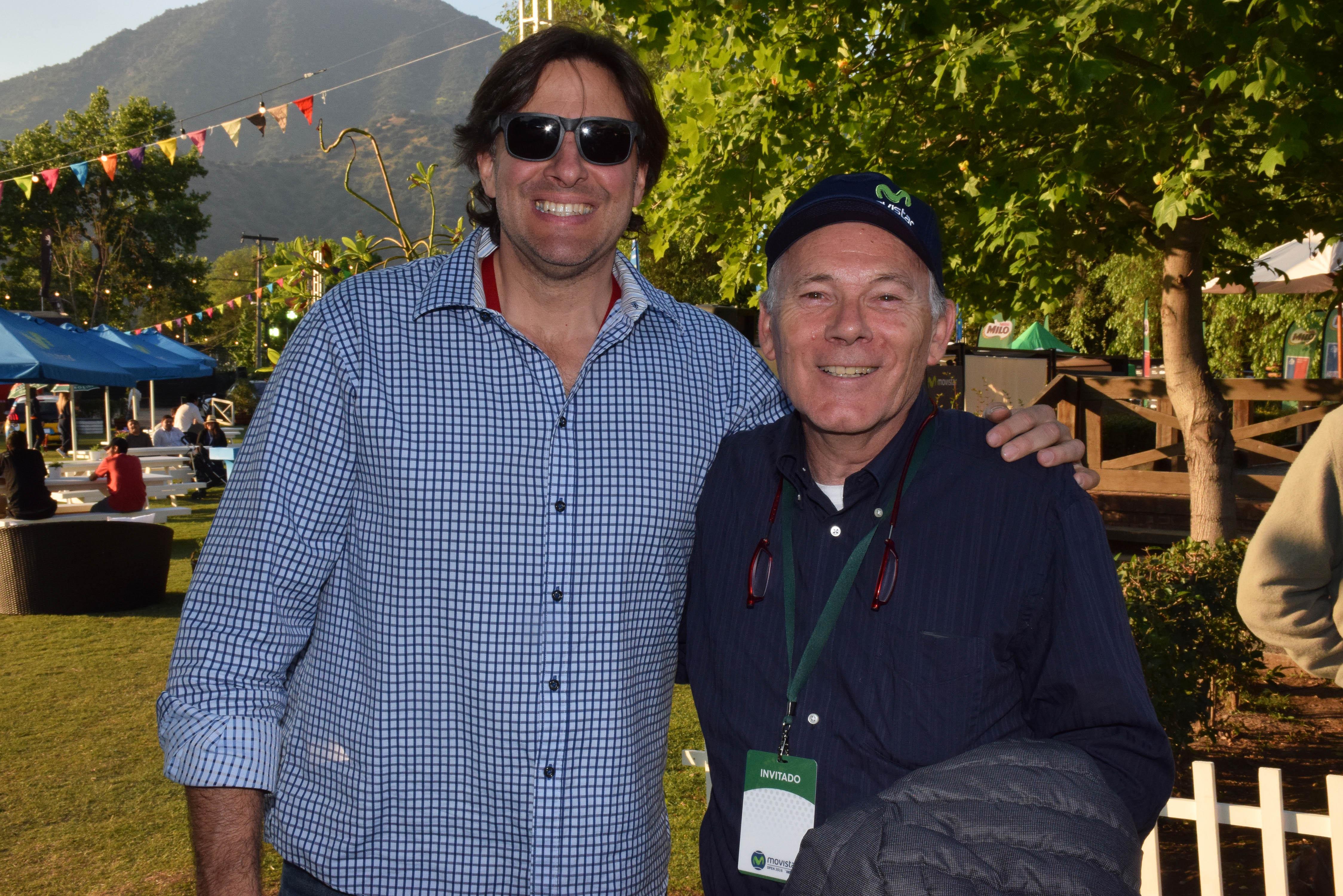 Allan Jarrey y Gonzalo Fillol