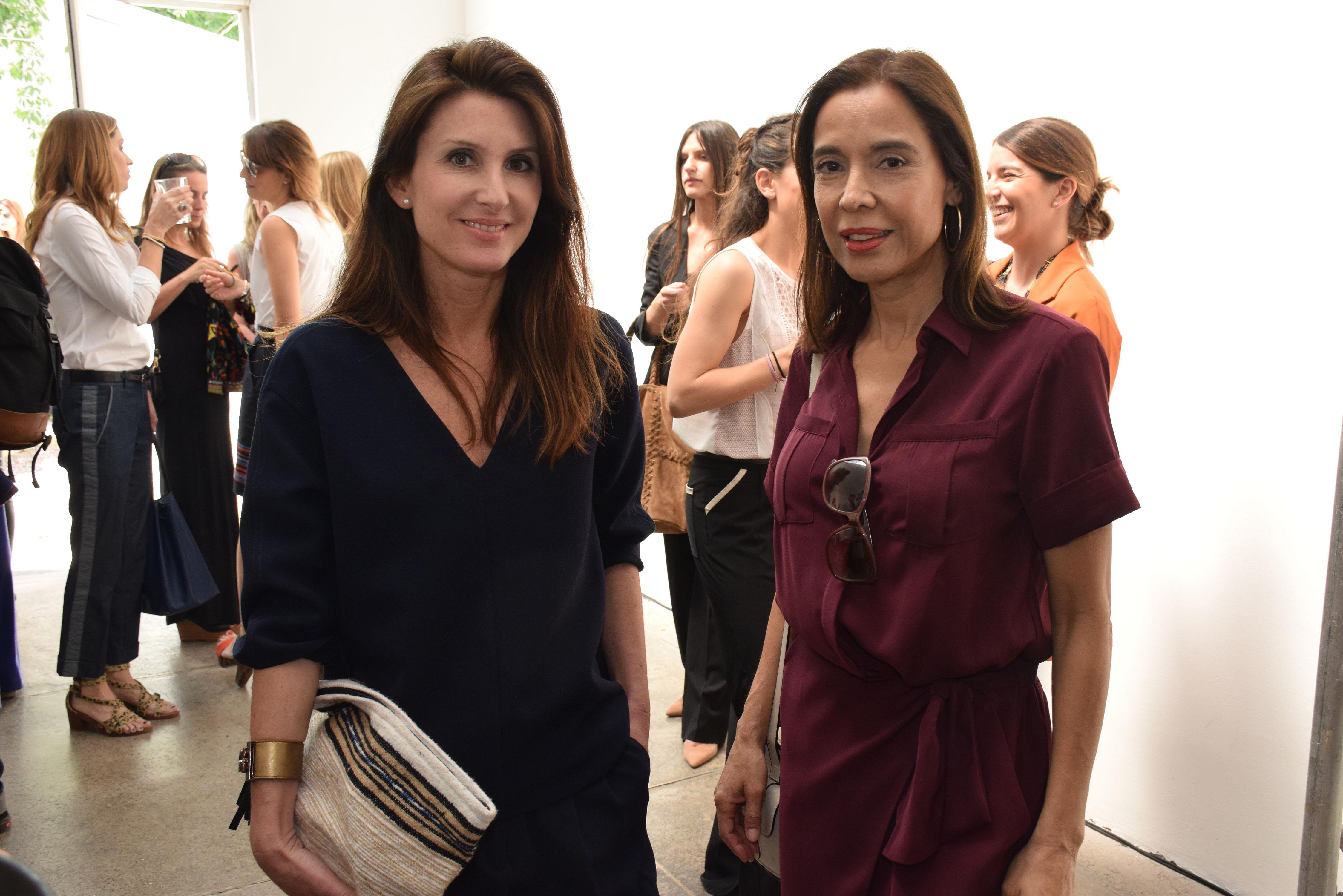 Magdalena Bock y Soledad Morales.