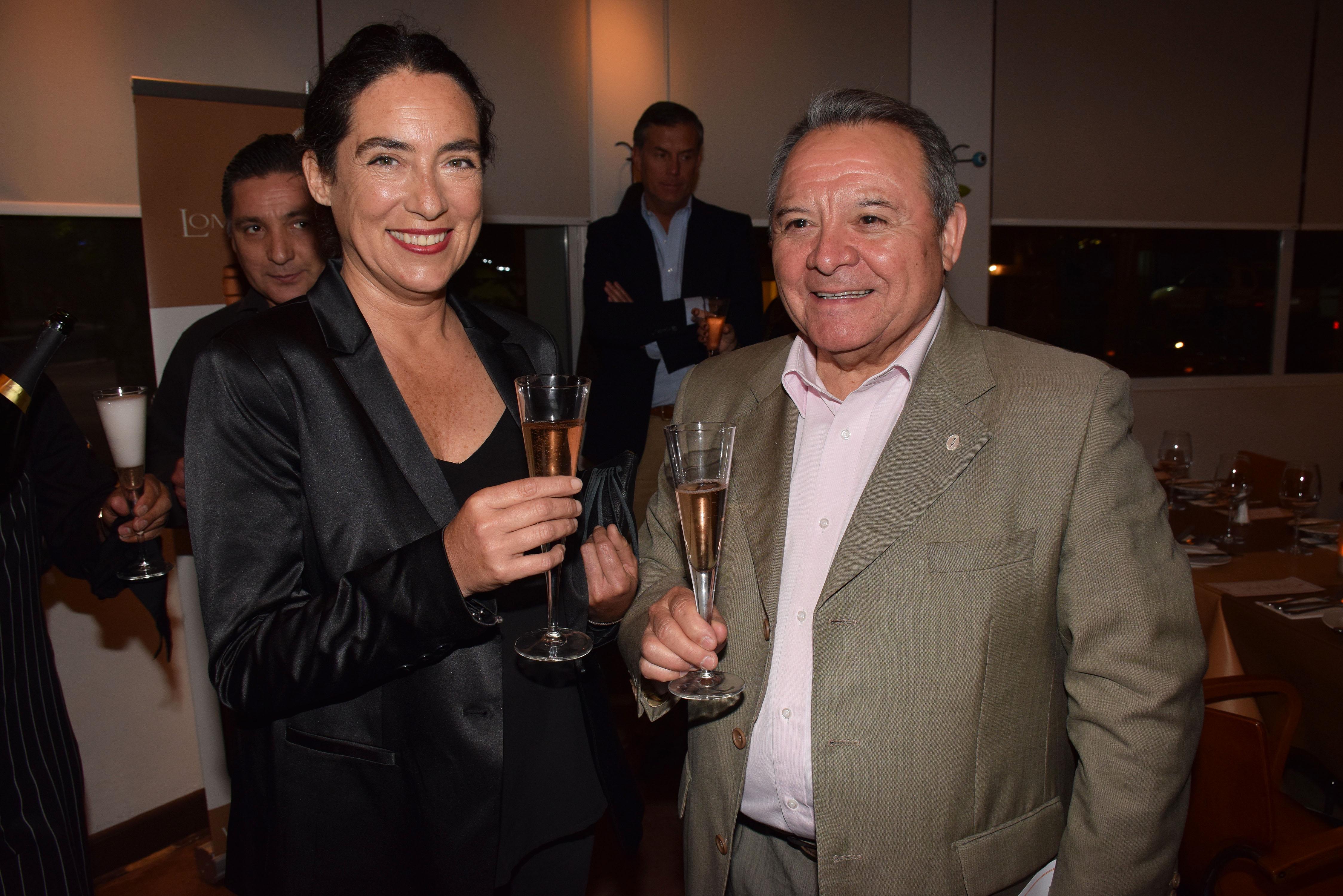 Carola Silva y Héctor Vergara.