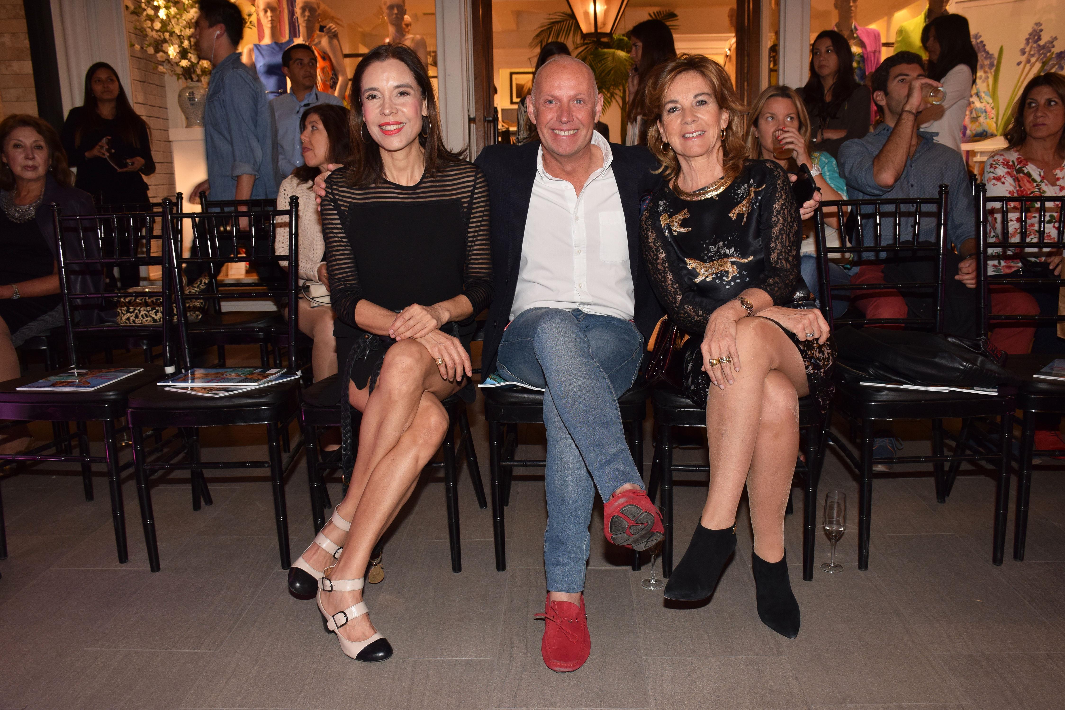 Soledad Morales, Felipe Forteza y María Paz Villegas.