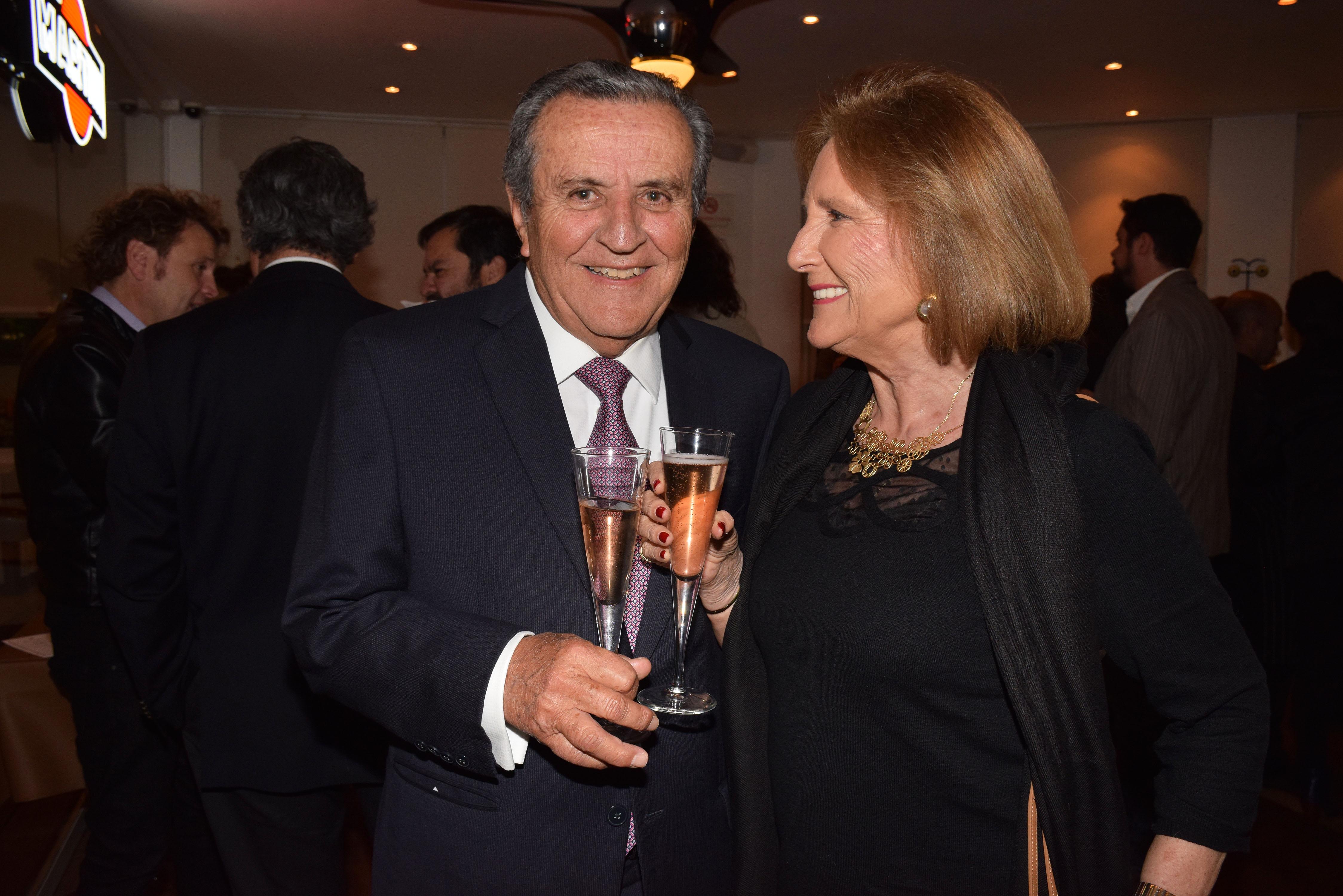 Patricio Díaz y Rosita Santelices.