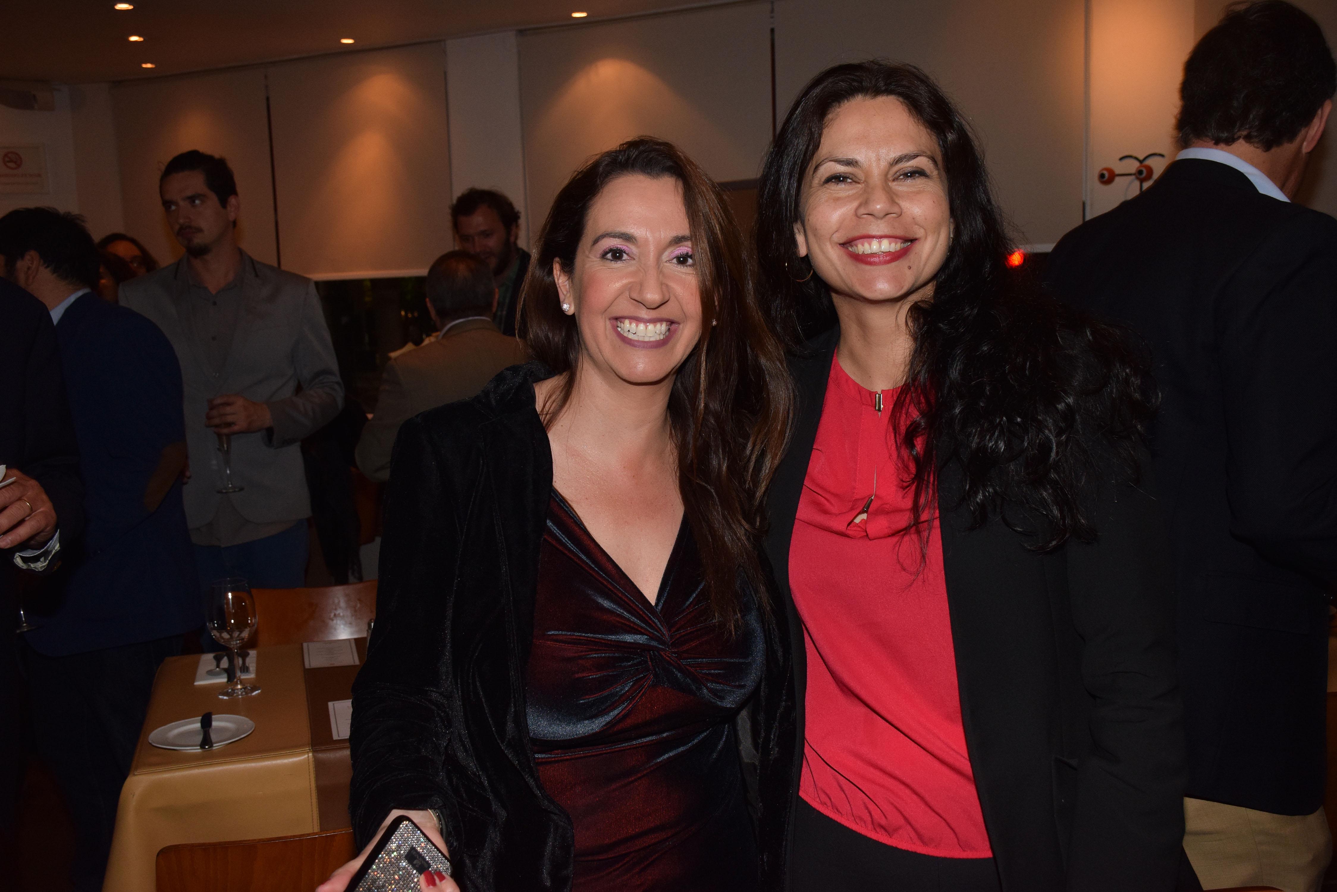María Paz Jiménez y Anita Barahona.