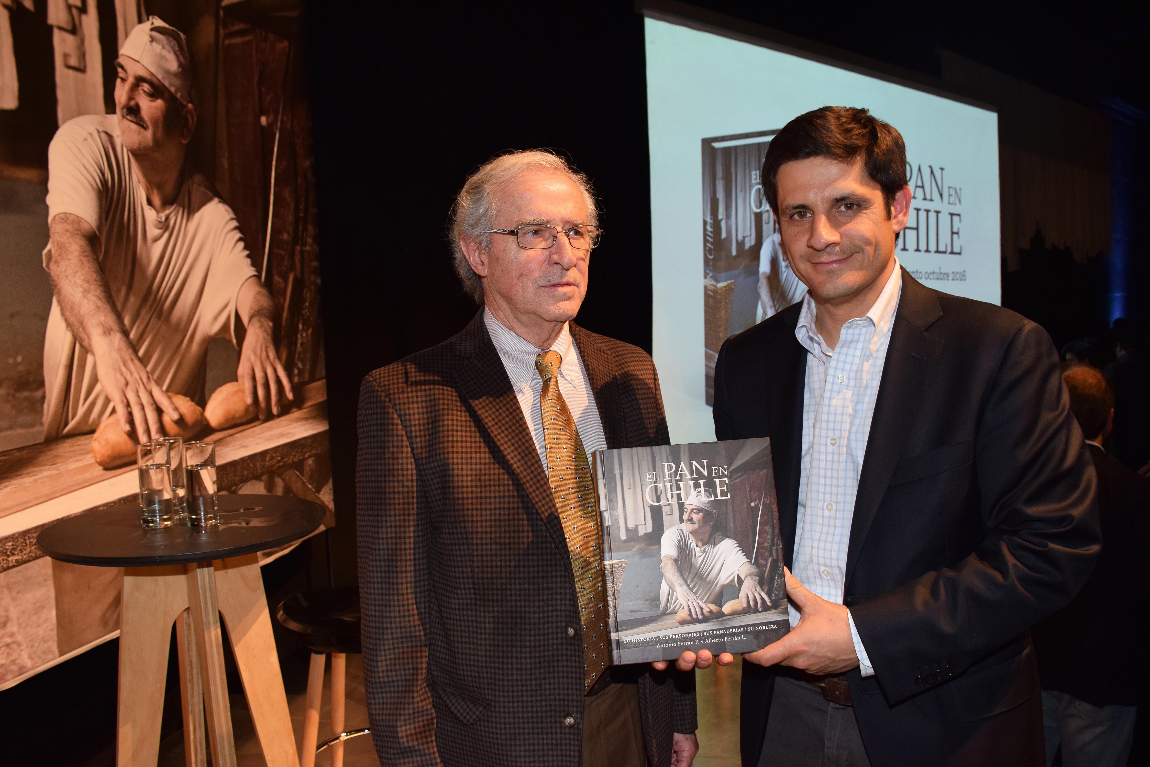 Antonio Ferrán y Alberto Ferrán.