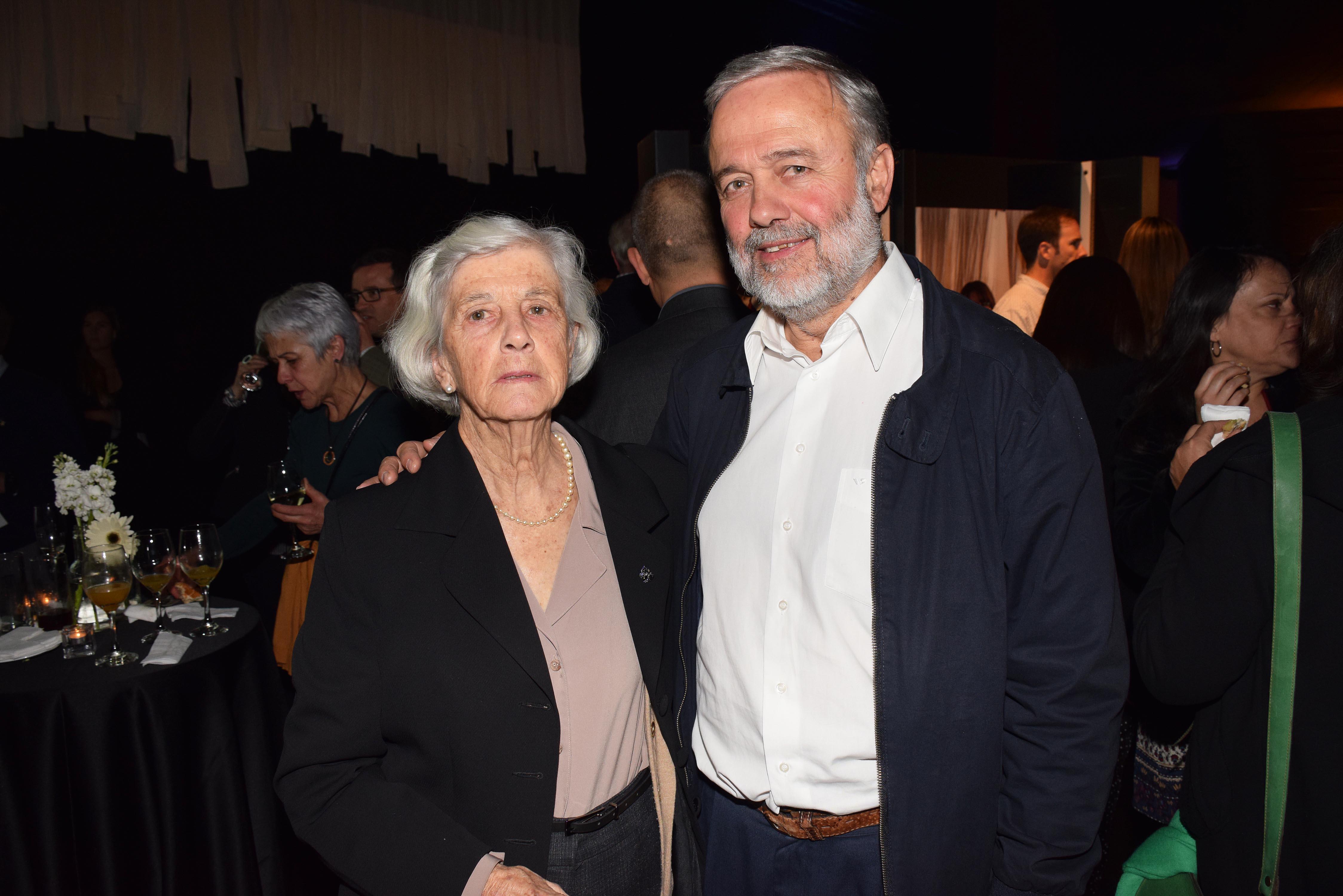 María Teresa Ferrán y Benito Baranda.