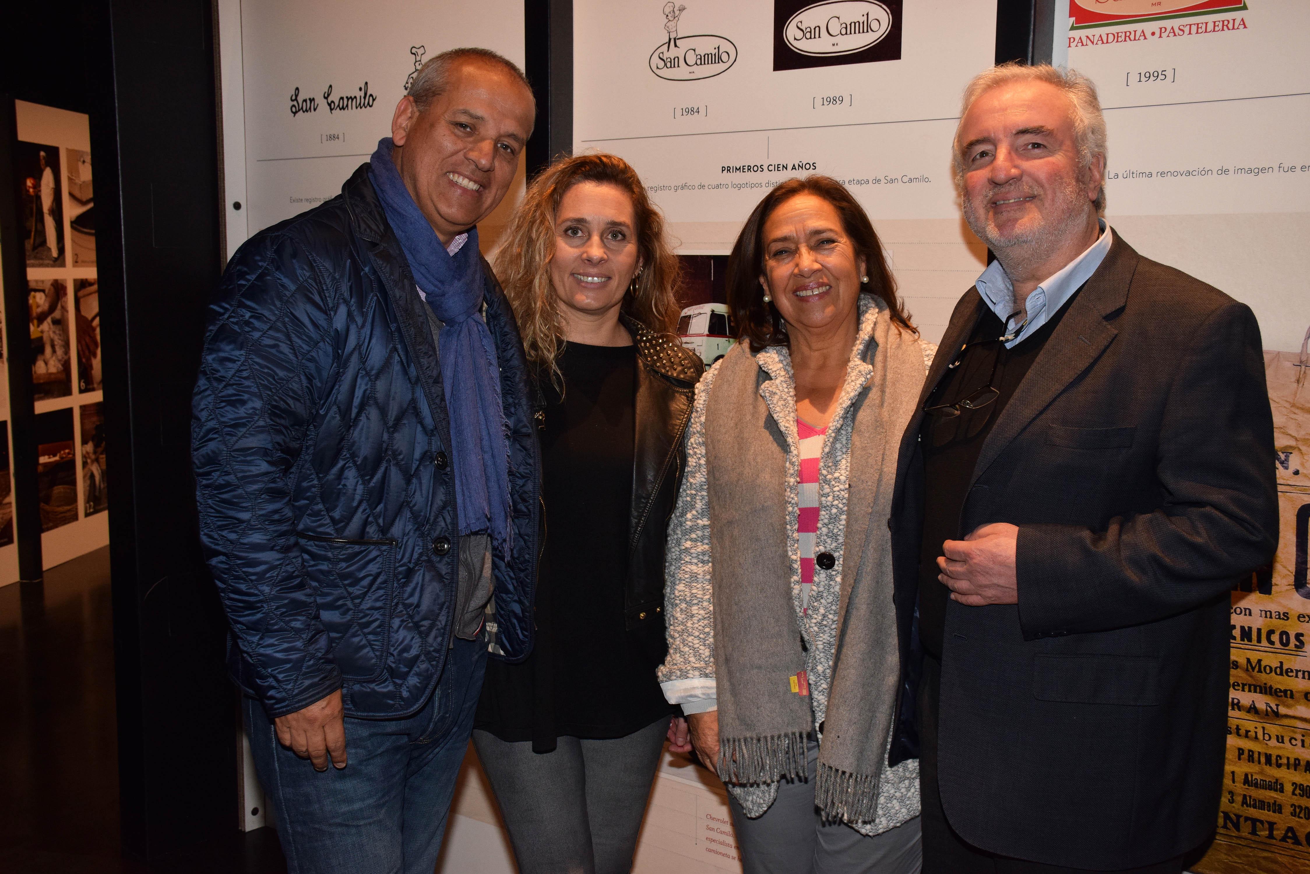 Claudio Soto, Patrizia Misseroni, Isabel Roa y Alfredo Vigneaux.