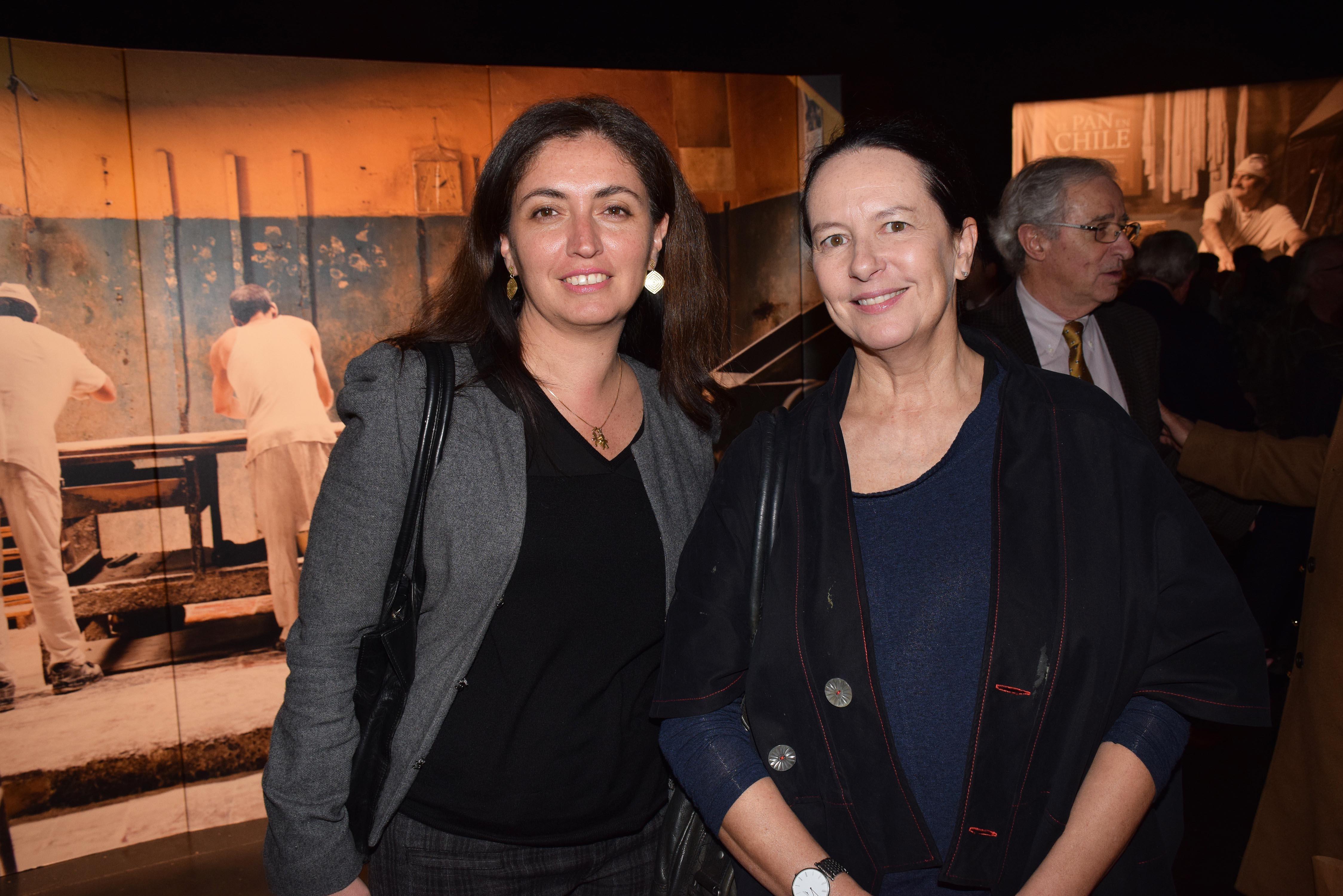Marcela Ceruti y Milena Vodanovic.