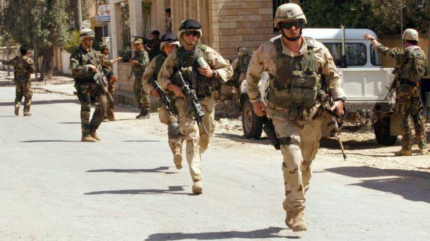 Mosul cayó bajo control de las fuerzas de EE.UU. y kurdas en abril de 2003.