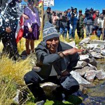 Evo Morales arremete otra vez: invita a comunidad internacional para que visite Silala y Río Lauca