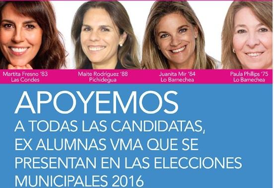 Vota por quien salió de mi colegio: la campaña de las ex alumnas del Villa María