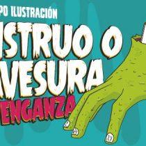 """Exposición de ilustración """"Monstruo o Travesura, la Venganza"""" en Centro Arte Alameda, hasta el 9 de noviembre. Entrada liberada"""