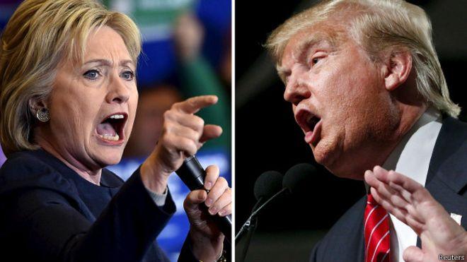Cadem: 80% de los chilenos cree que Hilary Clinton sería mejor Presidente de EE.UU. que Donald Trump
