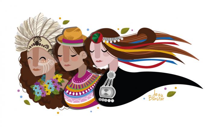 Destacadas exponentes del canto aymara, mapuche y rapa nui se presentan en Casa de la Ciudadanía Montecarmelo, 27 de octubre. Entrada liberada