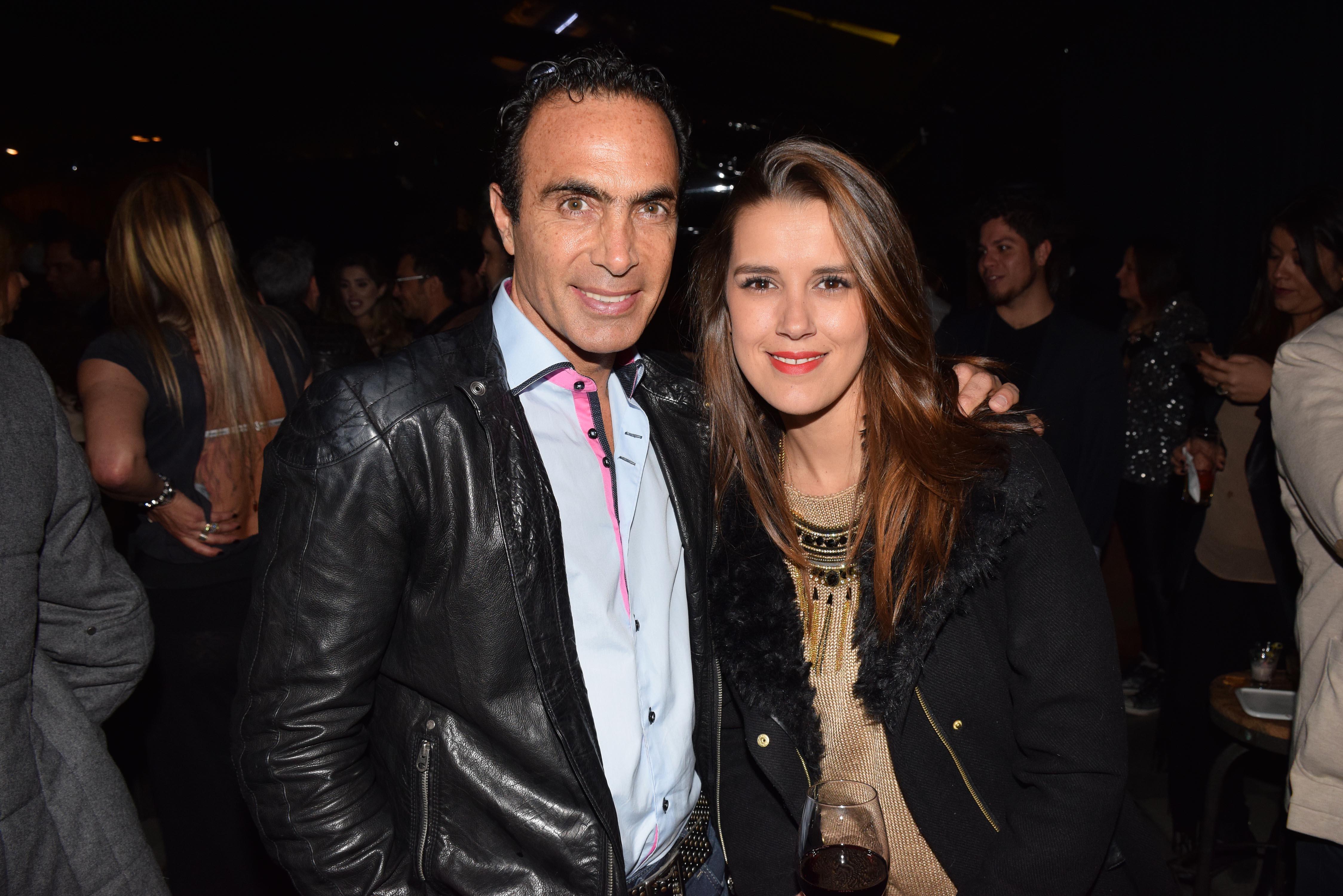Jose Sapag y Catalina Alemparte